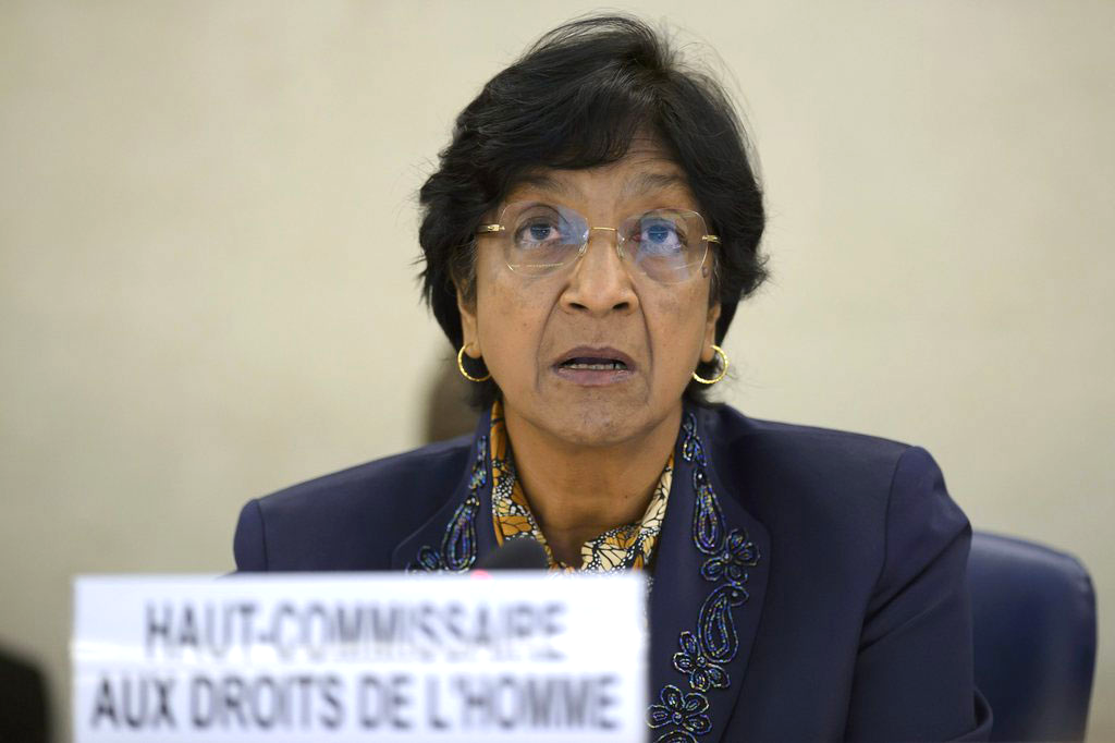 Navi Pillay évoque de possibles crimes de guerre à Gaza.