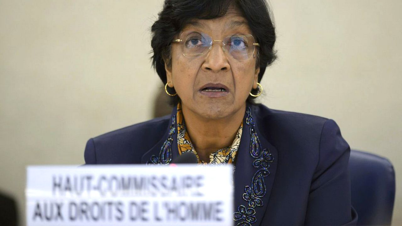 Navi Pillay évoque de possibles crimes de guerre à Gaza. [Martial Trezzini - EPA/Keystone]