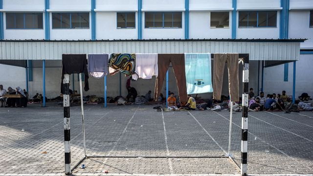 Des roquettes ont été retrouvées dans des écoles de Gaza sous contrôle de l'ONU. [AFP]