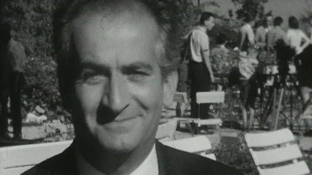L'acteur français Louis de Funès.