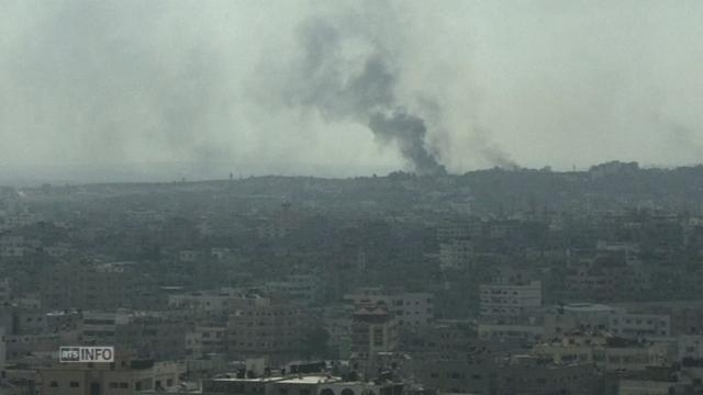 L'offensive israélienne se poursuit sur Gaza [RTS]