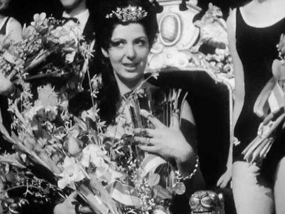 Elle a été sacrée la plus belle femme de Suisse en 1967. [RTS]