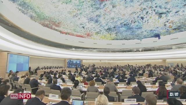 Une session extraordinaire a eu lieu à l'ONU à Genève [RTS]
