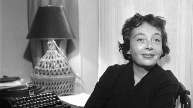 Marguerite Donnadieu, alias Marguerite Duras, est née en 1914 en Indochine française. [Lipnitzki/Roger-Viollet - AFP]