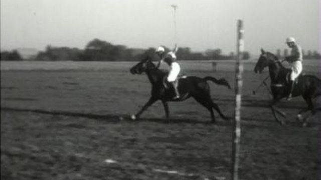Le premier match de polo en Suisse romande [RTS]