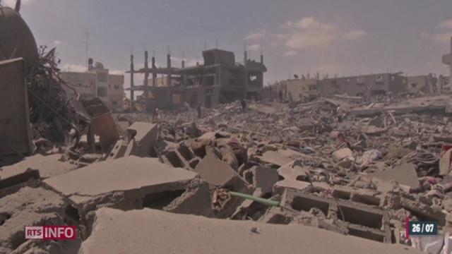 Gaza: le conflit a déjà fait plus de 1000 morts [RTS]