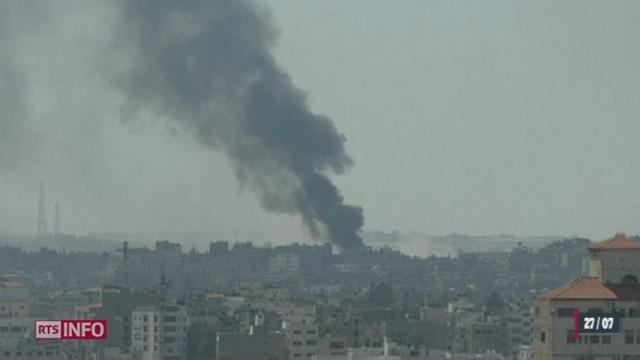 Gaza: une nouvelle trêve pourrait avoir lieu [RTS]