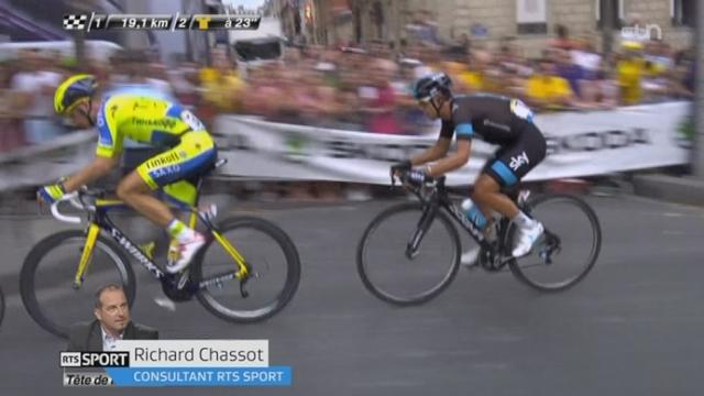 Cyclisme: le bilan du Tour de France [RTS]