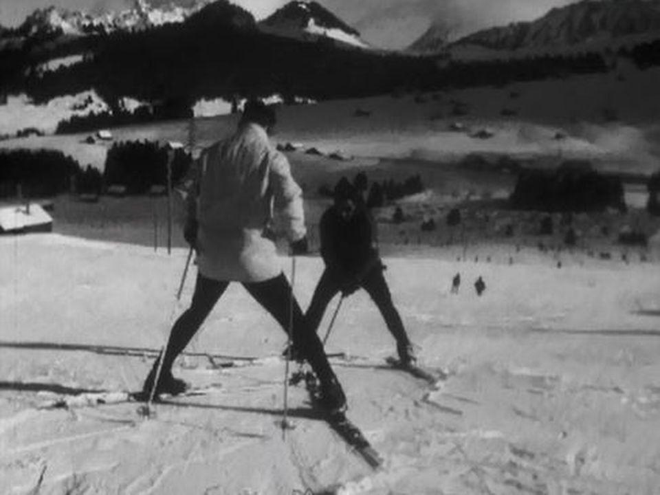 Le virage à ski,  tout est dans le style et les genoux! [RTS]