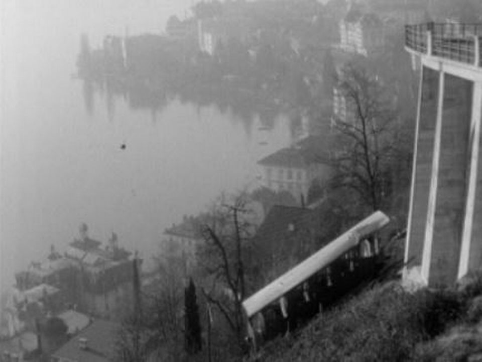 Funiculaire Territet - Glion en 1967 [RTS]