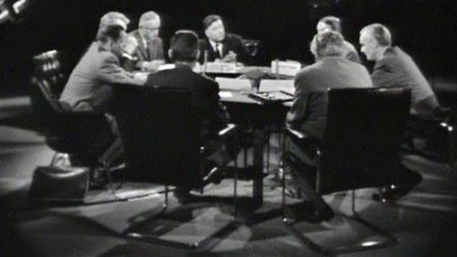 A la veille des élections fédérales, le débat entre partis. [RTS]