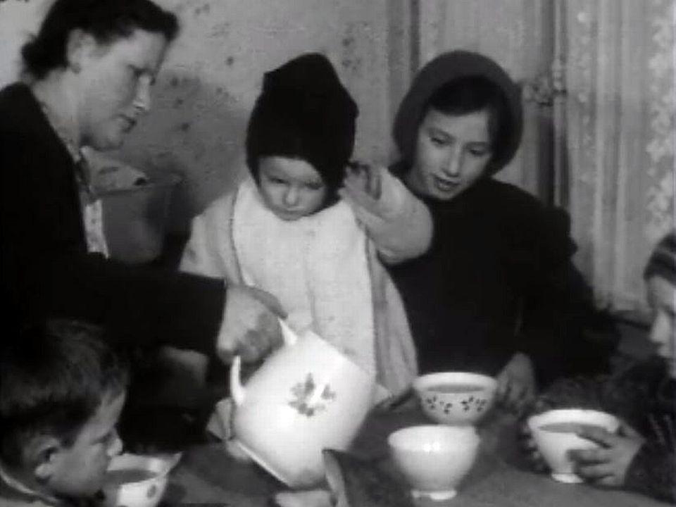 Précarité et pauvreté pour une famille nombreuse. [RTS]