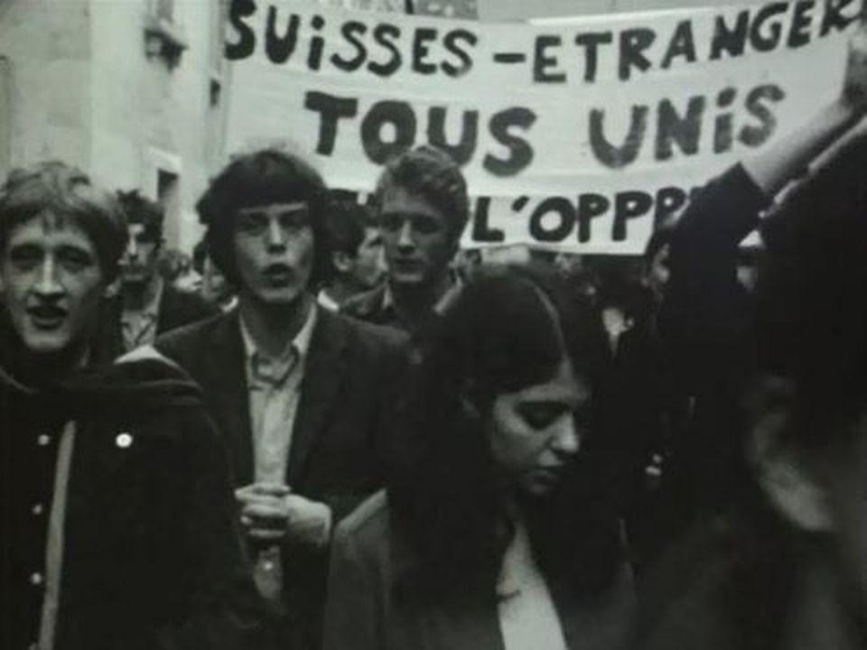 Les étudiants suisses revendiquent un changement radical. [RTS]