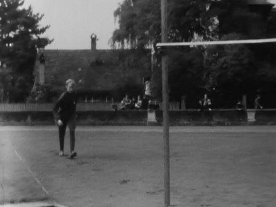 Meta Antenen, une athlète suisse à l'entraînement . [RTS]