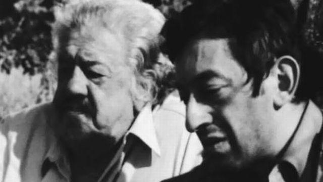 Gainsbourg a composé la chanson L'herbe tendre pour Michel Simon. [RTS]