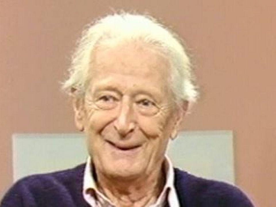 Hugues Cuenod en 1986 [TSR]