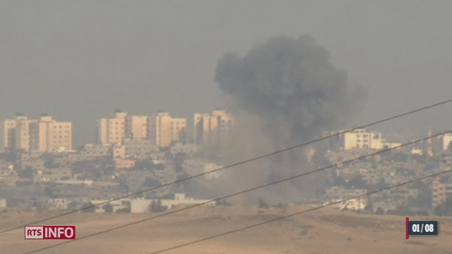 Gaza: les attaques continuent malgré la trêve annoncée [RTS]