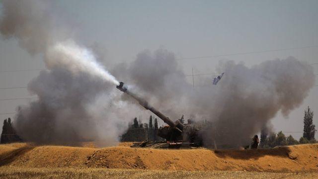La trêve annoncée par Israël et le Hamas n'a pas duré. [EPA/ATEF SAFADI - Keystone]