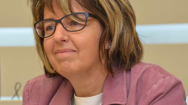 Elisabeth Baume-Schneider, ministre de l'Education de la République et Canton du Jura. [Gaël Klein - RTS]