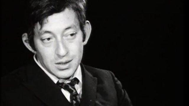 Gainsbourg partagé entre le Dr Jekyll et son complice Mr Hide. [RTS]