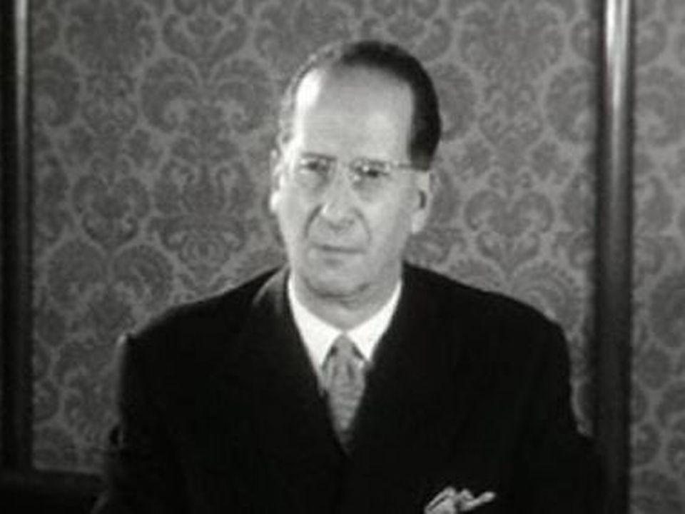 Gérard Bauer en 1961 [RTS]