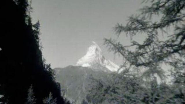 Le Cervin, l'alpha et l'omega de la station de Zermatt. [RTS]
