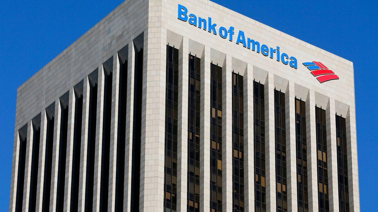Le siège de la Bank of America à Los Angeles. [Mike Blake]