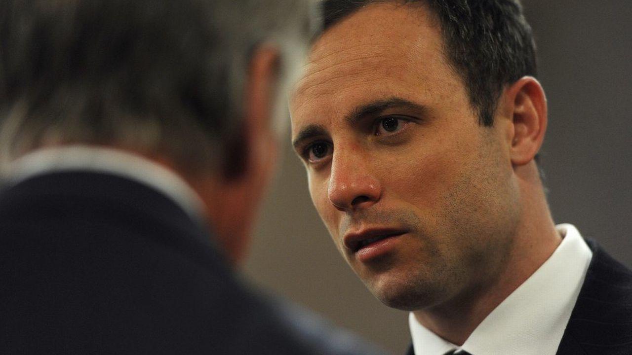 Oscar Pistorius face à ses juges [EPA/WERNER BEUKES / POOL - Keystone]
