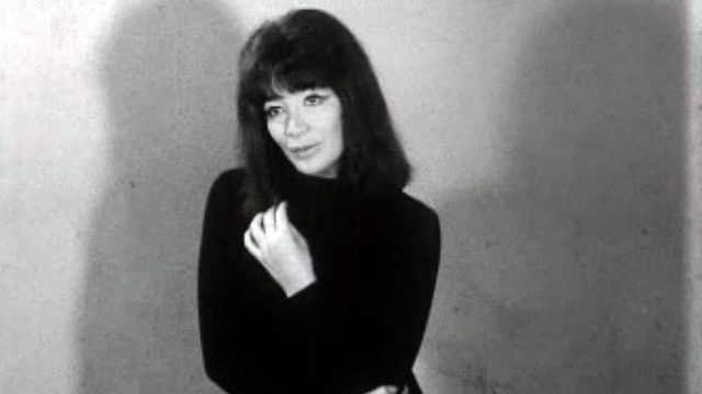 Juliette Greco en visite à Genève chante: A quoi bon rêver... [RTS]
