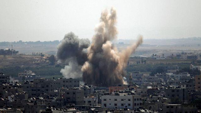 Les tirs israéliens ont repris ce vendredi matin sur Gaza. [Majdi Fathi/NurPhoto - AFP]