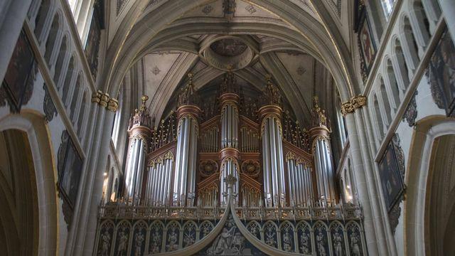 Orgue de cathédrale. [Mirko Humbert - Fotolia]