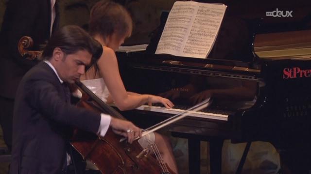 Yuja Wang (piano) & Gautier Capuçon (violoncelle) [RTS]