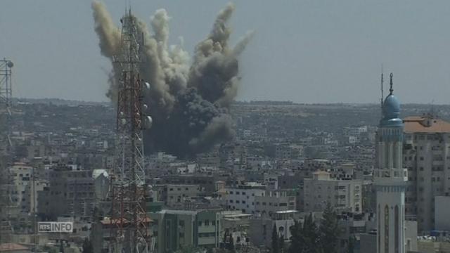 Reprise des bombardements à Gaza [RTS]