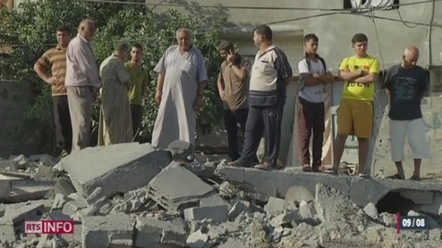 Les négociations sont toujours dans l'impasse au Caire entre Israéliens et Palestiniens [RTS]