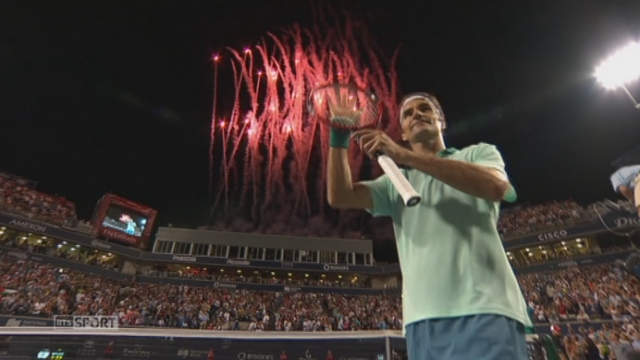 ATP Toronto: Federer s'offre une demi-finale en guise de 33e anniversaire [RTS]