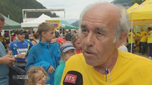 Course Sierre-Zinal: Jean-Claude Pont, fondateur de cette course, passe le relais [RTS]