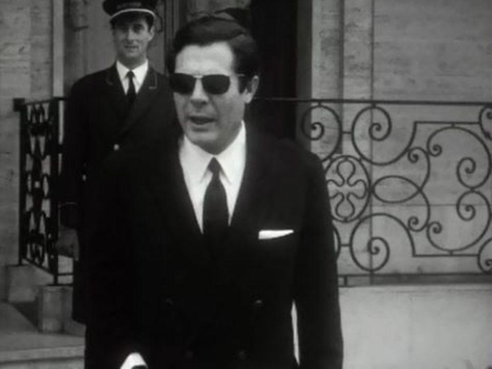Un homme d'une grande élégant: Marcello Mastroianni. [RTS]