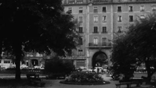 La reconstitution de l'attaque d'une bijouterie à Genève. [RTS]