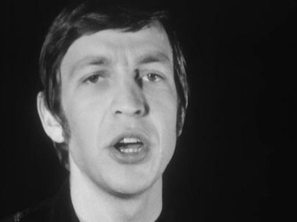 Henri Dès en 1967. [RTS]