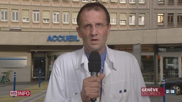 L'OMS autorise un traitement expérimental contre le virus Ebola: les explications du Dr Laurent Kaiser, chef du service des maladies infectieuses aux HUG [RTS]