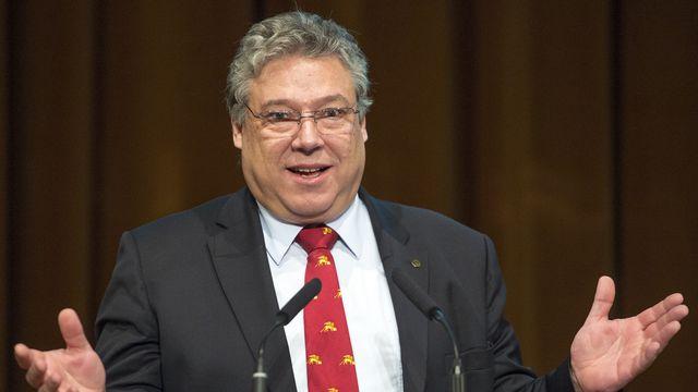 Un deuxième siège UDC au Conseil fédéral est conditionné à l'attitude du parti, estime Filippo Lombardi. [Keystone]