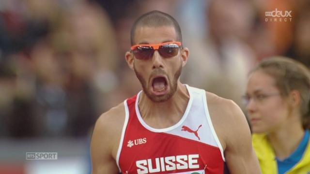 400m haies. Demi-finale: Kariem Hussein (SUI) [RTS]