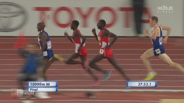 10'000 m messieurs: Mo Farah (GBR) [RTS]