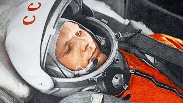 Youri Gagarine, contraint à avoir des relations sexuels tout seul.  [DR]