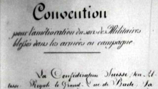 Centenaire de la signature de la Convention de Genève de 1864.