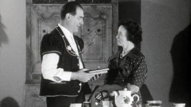 Albeuve possède une longue tradition de théâtre populaire. [RTS]