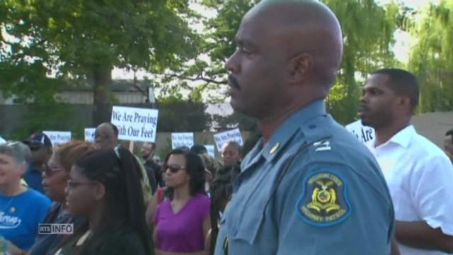 A Ferguson, la police de proximité remplace les robocops [RTS]