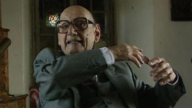 Jean Rodolphe de Salis en 1991 [RTS]