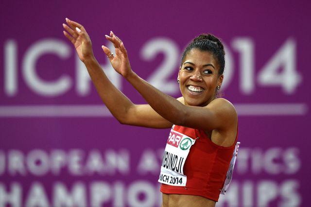 Kambundji peut désormais se concentrer sur le relais 4x100m. [Ennio Leanza - Keystone]