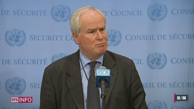 Irak: l'ONU souhaite contrer les djihadistes [RTS]